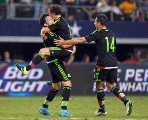 México vuelve a ubicarse como líder de la Concacaf. Foto: Notimex