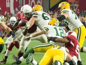 Los Cardenales y Empacadores jugarán el sábado en Glendale, donde Arizona tratará de seguir con vida en la postemporada de la NFL. Foto: Phil Soto