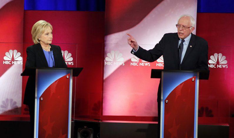 Clinton y Sanders tienen su debate más acalorado
