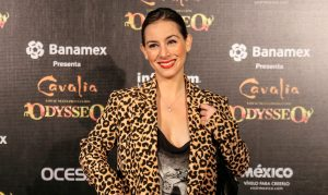 """Claudia Lizaldi está feliz de haber participado en un reality deportivo como """"Fábrica de Garra"""". Foto: Cortesía Ocesa"""