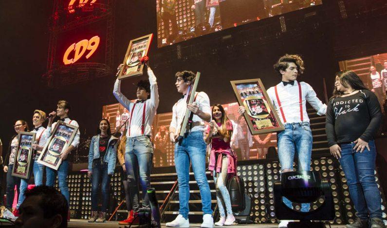 """CD9 recibe Disco de Oro por """"The Last Party Tour"""""""