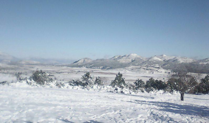 """Nevó en tierra de """"El Bronco"""""""