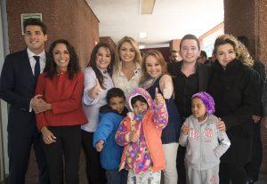"""Todos los involucrados en """"México se Pinta de Luz"""", están felices de recibir a Su Santidad Francisco. Foto: Cortesía Sony Music"""