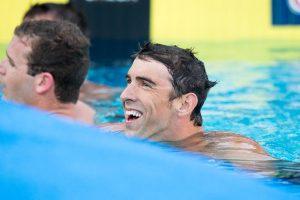 Michael Phelps entrenará a la última clase de 2016 del equipo de natación de los Sun Devils. Foto: Cortesía