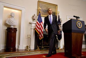 Si al final los magistrados respaldan al gobierno de Obama, al presidente le quedarían aproximadamente siete meses para poner en práctica sus planes. Foto: AP