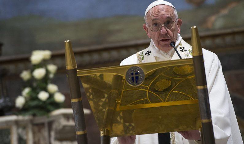 El papa Francisco postulado para el Premio Nobel de la Paz