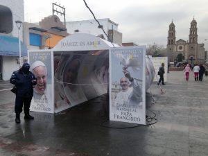 La misa de Francisco en Ciudad Juárez se realizará el 17 de febrero, ocho días después de que se celebren las elecciones primarias de New Hampshire, y tres antes de las primarias de Carolina del Sur y Nevada. Foto: AP