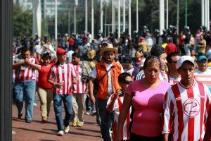 La afición del Guadalajara quiere ver ganar a su equipo. Foto: Notimex