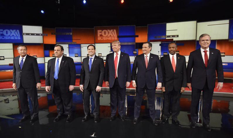 Trump y Cruz se enzarzan en primer debate republicano de 2016