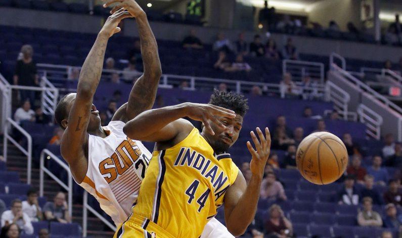Ellis y George guían a Pacers a triunfo sobre Suns