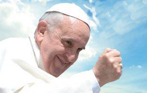 Su Santidad El Papa Francisco plasma sus pensamientos en el álbum La Familia. Foto: Cortesia Warner Music