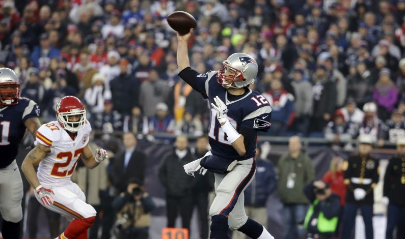 Patriots avanzan a su quinta final de conferencia seguida