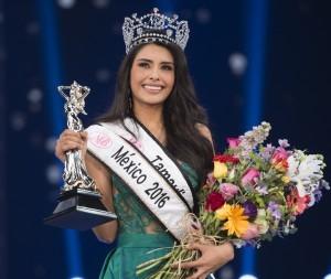 La representante de Tamaulipas Cristal Silva Dávila, Nuestra Belleza México 2016. Foto: Cortesía