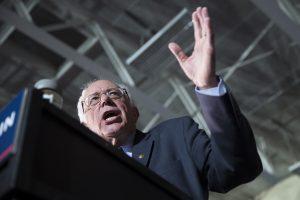 """El senador Bernie Sanders ha reunido a grandes y jóvenes multitudes en todo el estado, instó a los votantes a ayudarlo a """"hacer historia"""" con una victoria en Iowa."""