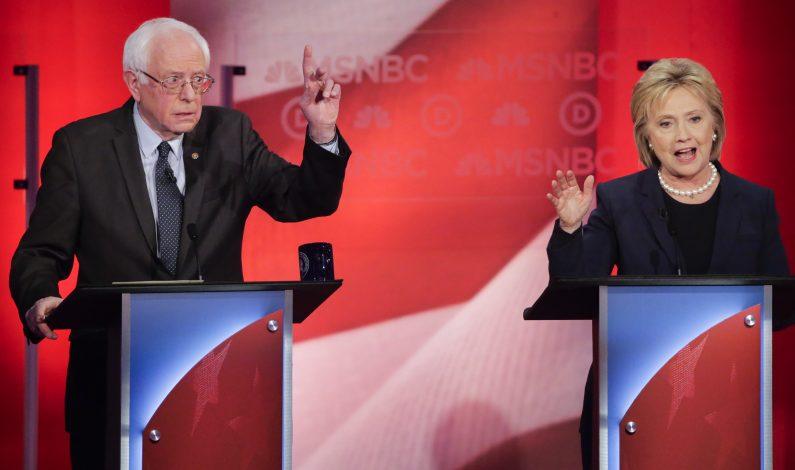 Clinton, más agresiva para frenar a Sanders