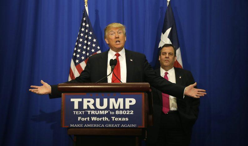 Christie respalda candidatura de Trump