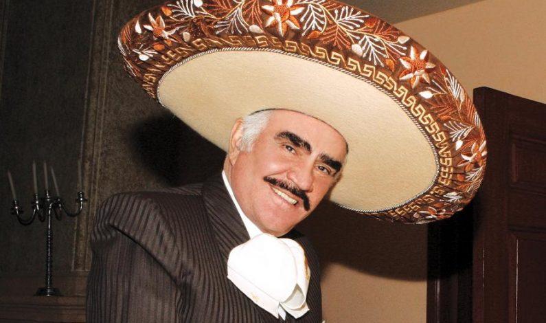 Vicente Fernández se despedirá el 16 de abril en el Estadio Azteca