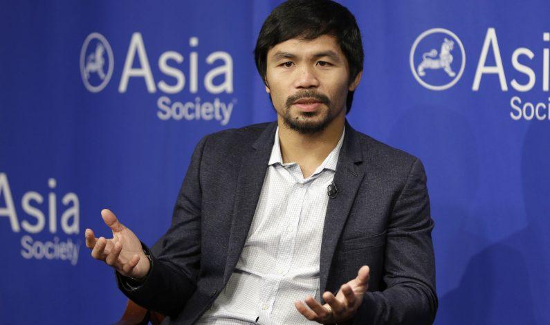 Manny Pacquiao, criticado por comentario homófobo