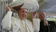 Papa Francisco visita México como un determinado jefe de estado