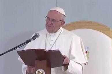 Jesús nunca invitaría a ser sicarios, quiere discípulos: Papa Francisco
