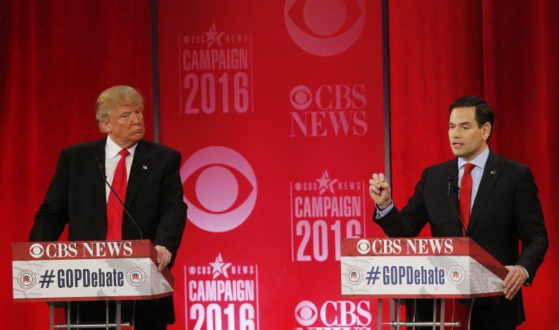 Republicanos debaten sobre política exterior, inmigración