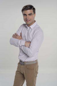 Santiago llegó a México en 2010 ySueño de Amor es su primera oportunidad protagónica en Televisa. Foto: Cortesía de Televisa