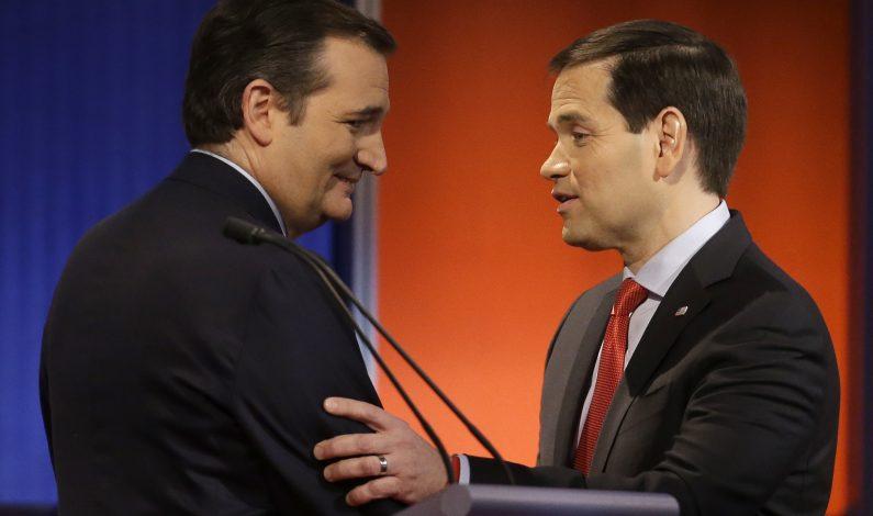 Cruz y Rubio ganan impulso en Iowa hacia New Hampshire