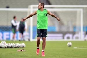 """""""Chicharito"""" ha participado en dos Copas del Mundo y en ambas logró marcar. Foto: Notimex"""