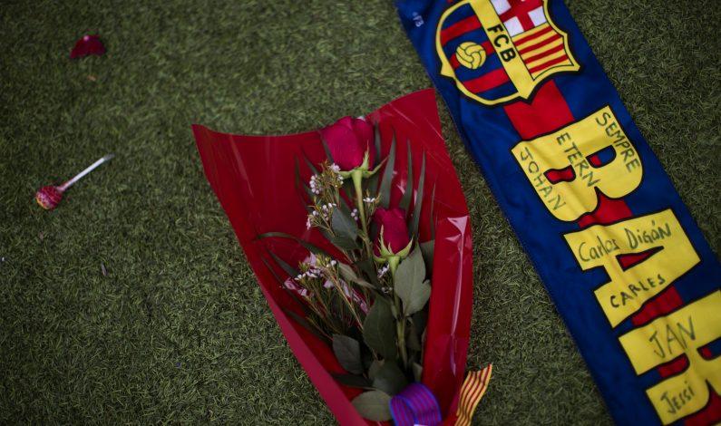 Barcelona: concluyen los homenajes a Johan Cruyff