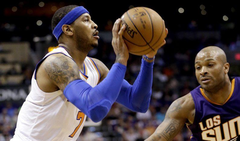 Vujacic y Anthony dan triunfo a Knicks sobre Suns