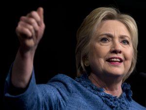 Hillary Clinton, se convirtió hoy, entre ovaciones, en la primera mujer en la historia del país en ser nominada como candidata a la presidenciaFoto: Archivo