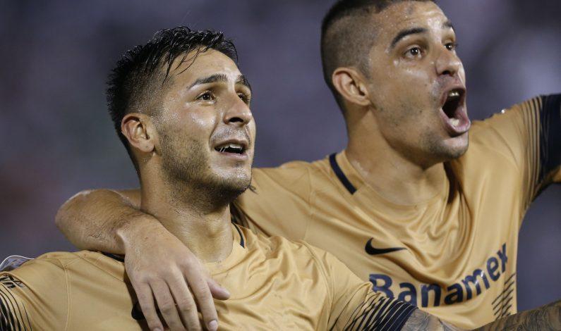 Libertadores: Pumas se impone 2-0 en casa de Olimpia