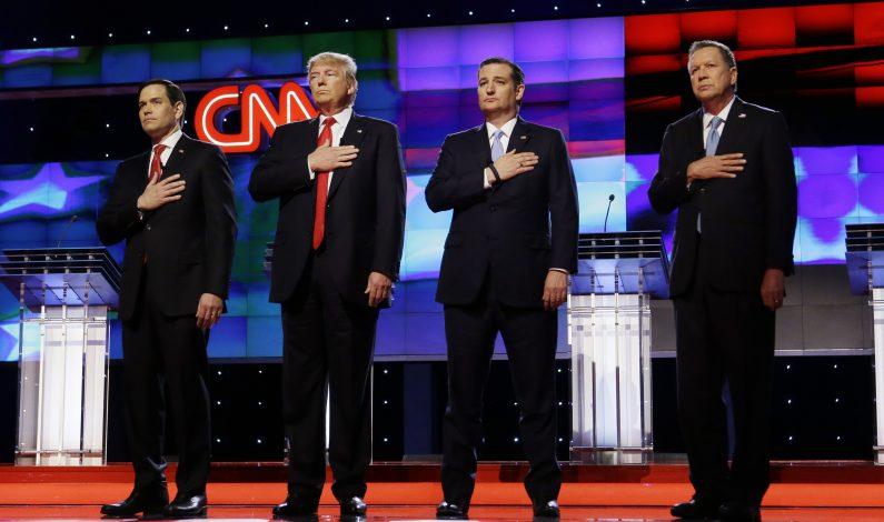 Muro, migración y comercio dominan debate republicano