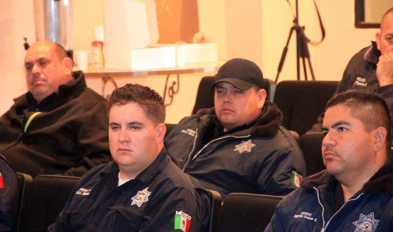 Instructores de Estados Unidos capacita a Policía de Sonora