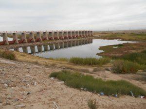 Por el momento, el lecho del río Colorado permanece seco en México, pues 80 por ciento de su agua se utiliza en la agricultura en ambos lados de la frontera