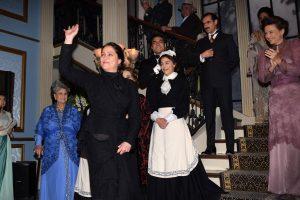 Daniela Romo interpreta a Ángela Gómez Viuda de Salinas. Foto Mixed Voces