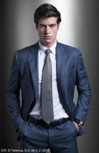 Danilo Carrera supo aprovechar muy bien su personaje de Franco Herrera Fuentes. Foto: Cortesía de Televisa