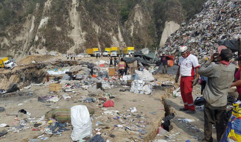 Autoridades guatemaltecas cifran en 24 los desaparecidos en derrumbre