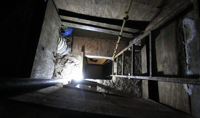 Autoridades revelan detalles de extenso túnel entre México y EU