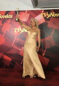 premio TvyNovelas por la producción del programa HOY