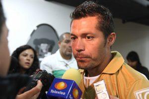 Dante López, delantero de los Pumas de la UNAM. Foto: Notimex