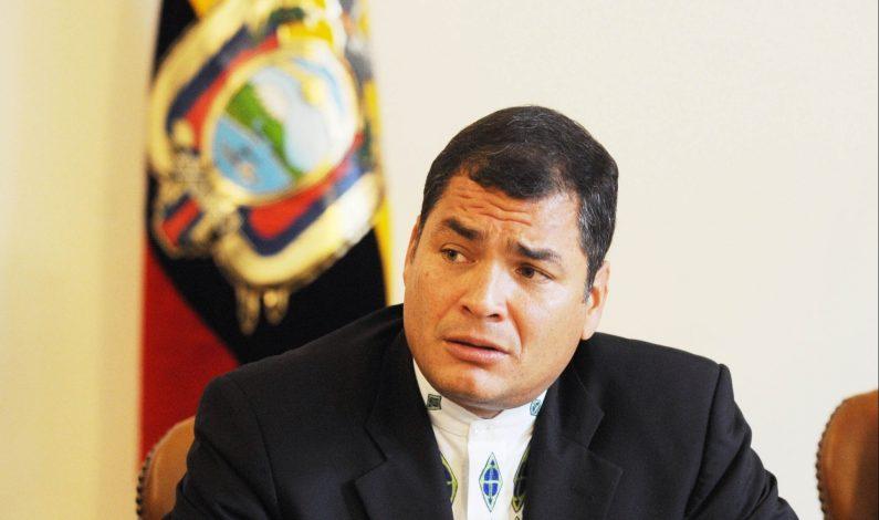Presidente Correa insta a Ecuador a unirse ante la tragedia