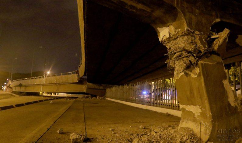 Sacude Ecuador nuevo sismo de 6.3 grados Richter