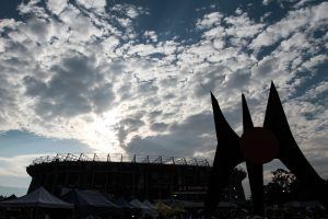 El Estadio Azteca será el escenario donde Aguilas y Rayados se enfrentarán. Foto: Notimex