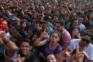 Miles disfrutaron del Vice Latino el fin de semana en la ciudad de México. Foto: Notimex