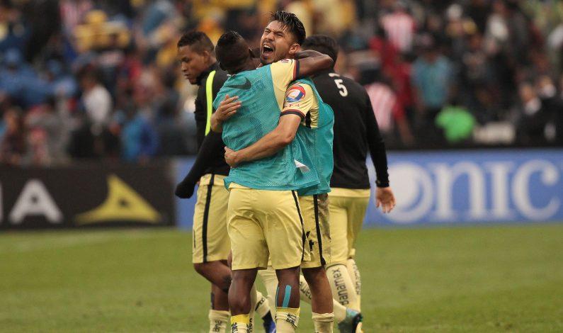 América a semifinales tras remontar y dejar en el césped a Guadalajara
