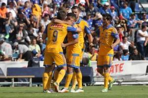 el actual campeón del futbol mexicano, los Tigres de la UANL, en busca de tomar ventaja hacia las semifinales