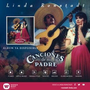A lo largo de su carrera, Linda Ronstadt brilló en el country, rock, blues, ópera y, por supuesto, en la música ranchera. Foto Cortesía Warner Music