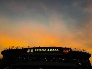 El Estadio Azteca será el escenario donde el domingo se jugará la vuelta entre América y Guadalajara. Foto: Notimex