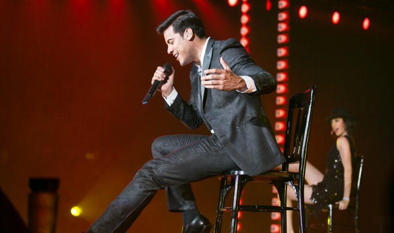 Carlos Rivera realiza espléndido concierto